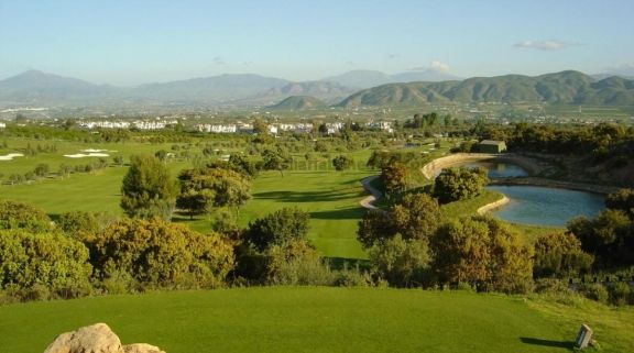 The Lauro Golf Club's lovely golf course within brilliant Costa Del Sol.