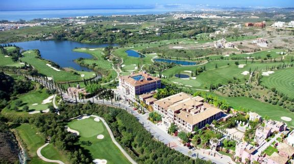 The Los Flamingos Golf Course's lovely golf course in marvelous Costa Del Sol.