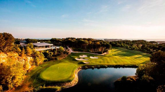 View Lumine Lakes Golf Course's impressive golf course situated in incredible Costa Dorada.