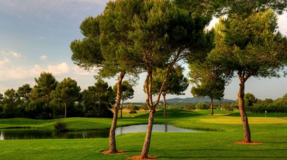 The Golf Son Antem's picturesque golf course in sensational Mallorca.