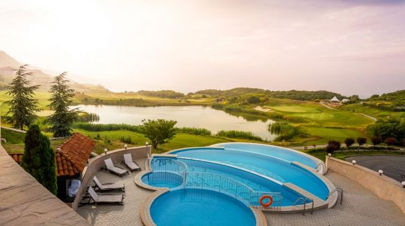 View Thracian Cliffs Golf  Beach Resort 's impressive main pool within incredible Black Sea Coast.