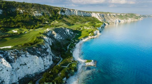 The Thracian Cliffs Golf Club's impressive golf course situated in amazing Black Sea Coast.