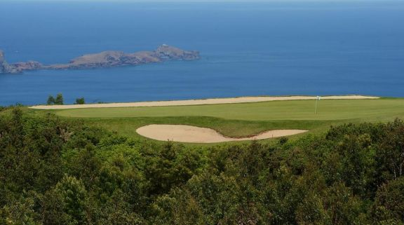 The Santo da Serra Golf Club's scenic golf course situated in marvelous Madeira.