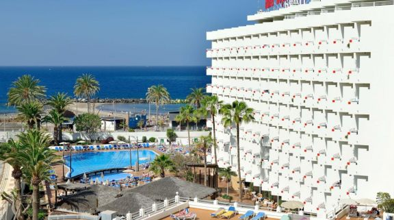 The Hotel Troya's impressive hotel situated in stunning Tenerife.