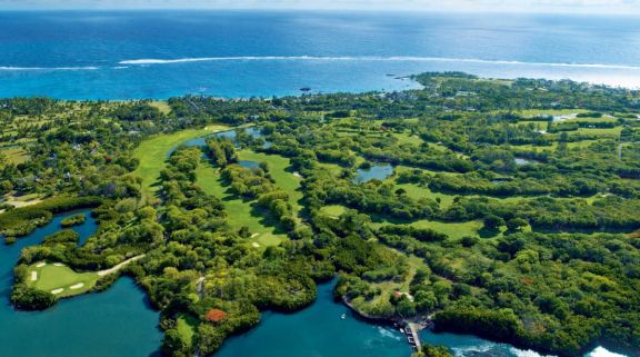 View The Links  The Legend at Belle Mare Plage's beautiful golf course within fantastic Mauritius.