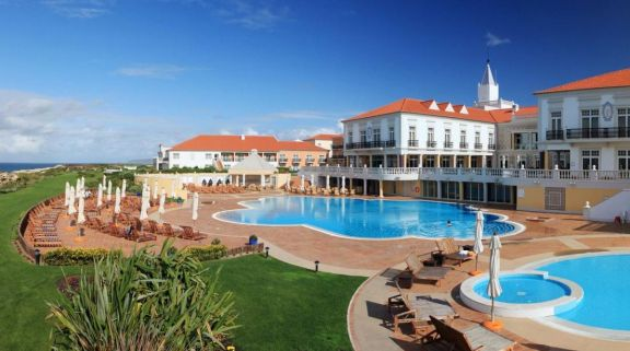 The Praia D'el Rey Marriott Golf  Beach Resort's picturesque hotel situated in stunning Lisbon.
