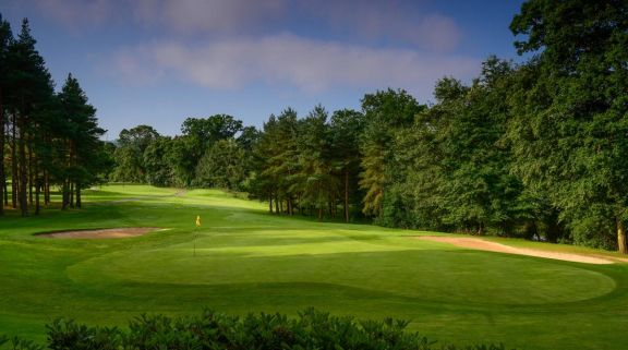 The Malone Golf Club's picturesque golf course situated in impressive Northern Ireland.