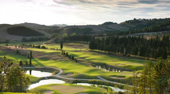 The Golf Club Castelfalfi's picturesque golf course in incredible Tuscany.