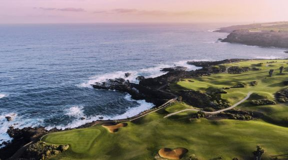 View Buenavista Golf Course's picturesque golf course within dazzling Tenerife.
