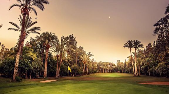 The Royal Golf Marrakech's beautiful golf course within faultless Morocco.