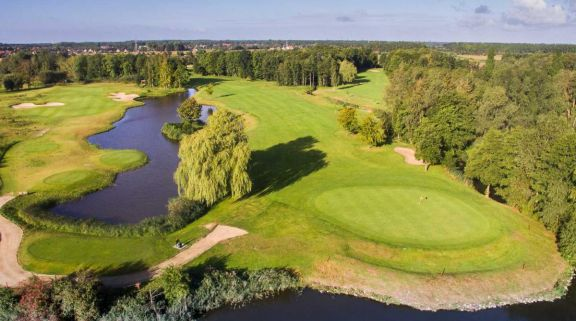 The Damme Golf  Country Club's impressive golf course within pleasing Bruges  Ypres.