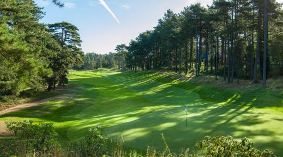 The Hardelot Les Dunes's beautiful golf course situated in incredible Northern France.