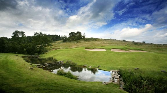 The Twenty Ten Course at Celtic Manor Resort's lovely golf course in marvelous Wales.