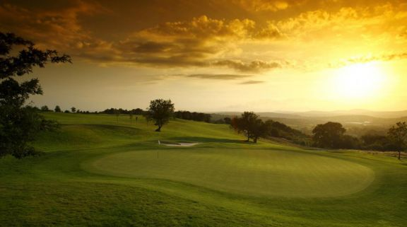 The Roman Road Course at Celtic Manor Resort's picturesque golf course in sensational Wales.