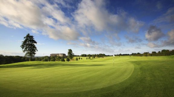 The Montgomerie Course at Celtic Manor Resort offers the most desirable golf course near Wales