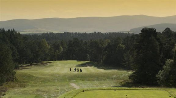 View Grantown-on-Spey Golf Club's scenic golf course in impressive Scotland.