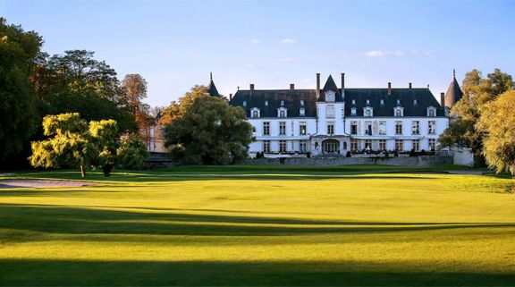 View Golf d Augerville's picturesque golf course situated in pleasing Paris.