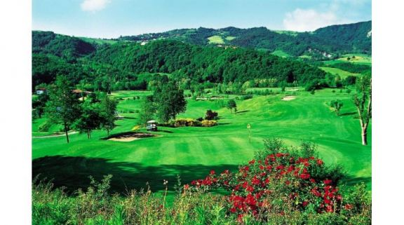 The Salsomaggiore Golf & Thermae's impressive golf course situated in amazing Northern Italy.