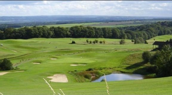 The Mean Five Nations Golfclub's scenic golf course in sensational Rest of Belgium.