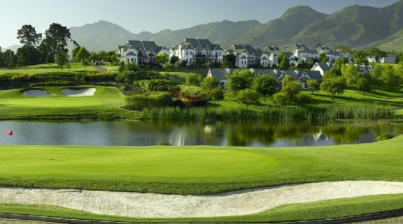 The Fancourt Montagu Course's lovely golf course within impressive South Africa.