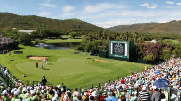 The Gary Player Country Club's impressive golf course within astounding South Africa.