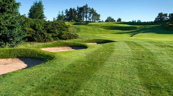 All The The Kings Course - Gleneagles's beautiful golf course within marvelous Scotland.