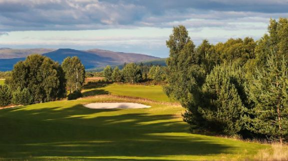 View Macdonald Spey Valley Championship Golf Course's beautiful golf course in striking Scotland.