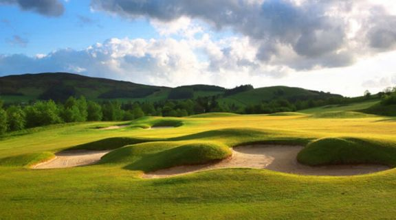 Macdonald Cardrona Championship Course provides among the finest golf course near Scotland