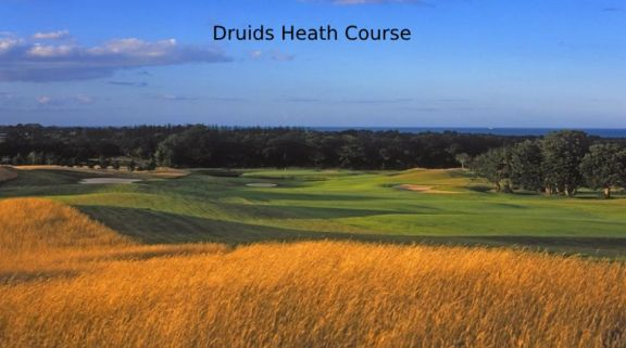 The Druids Glen - Wicklow Golf Club's scenic golf course in sensational Southern Ireland.