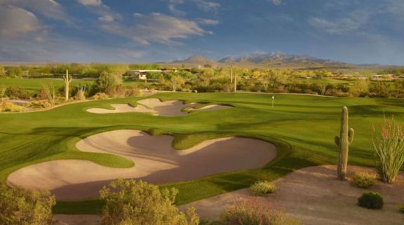 The Longbow Golf Club's scenic golf course in sensational Arizona.