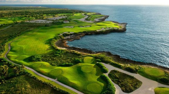 The Puntacana Golf Club's lovely golf course in marvelous Dominican Republic.