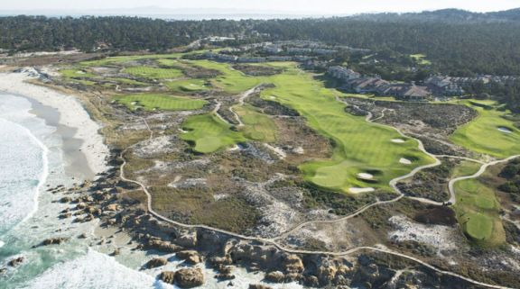 The Links at Spanish Bay features lots of the top golf course within California