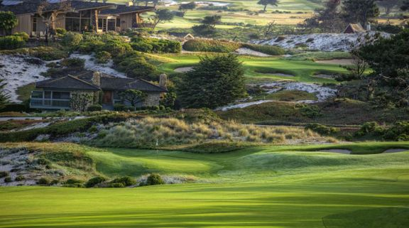 The Spyglass Hill Golf Course's lovely golf course in stunning California.