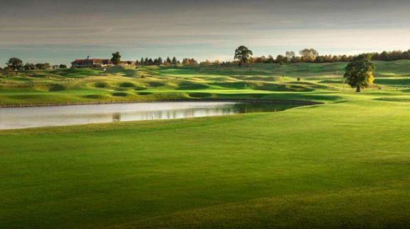 View The Oxfordshire Golf Club's picturesque golf course situated in pleasing Oxfordshire.