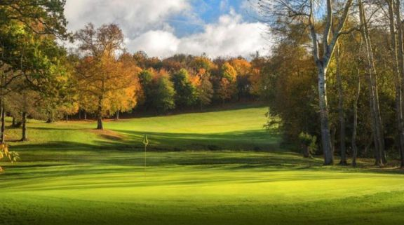 The Sandford Springs Golf Club's impressive golf course in incredible Hampshire.