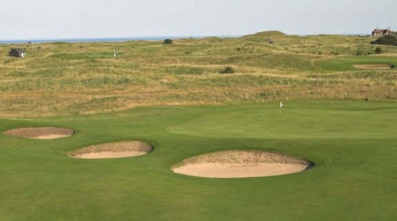 Royal St. George's Golf Club provides some of the leading golf course around Kent