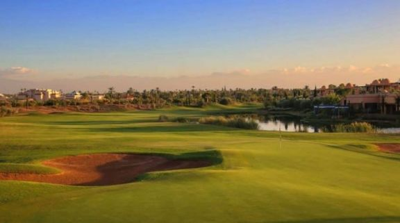 View PalmGolf Marrakech Ourika's beautiful golf course within gorgeous Morocco.