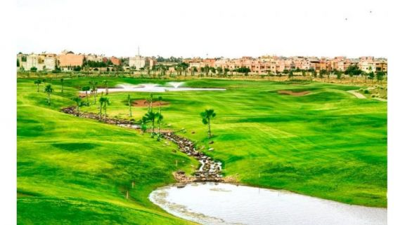 The The Montgomerie Marrakech's lovely golf course situated in staggering Morocco.