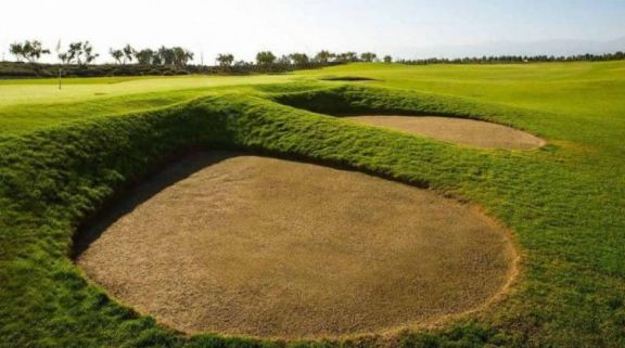 The Noria Golf Club Marrakech's picturesque golf course in pleasing Morocco.