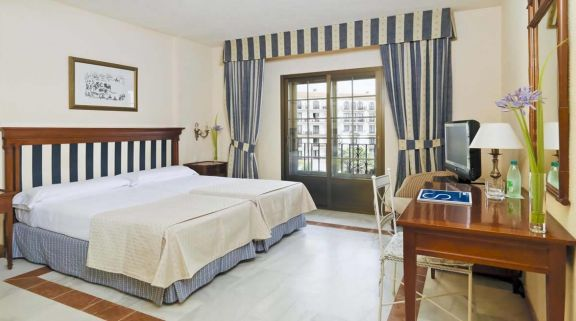 H10 Andalucia Plaza Double Bedroom