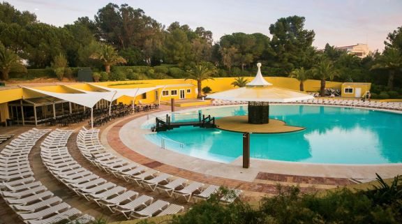 View Pestana Delfim Hotel's lovely main pool situated in pleasing Algarve.