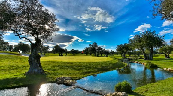 View Quinta da Ria Golf Course's lovely golf course situated in pleasing Algarve.