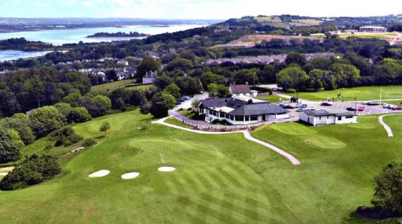 The Douglas Golf Club's impressive golf course situated in fantastic Isle of Man.