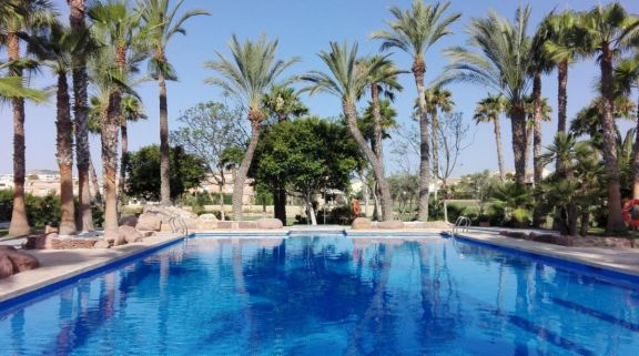 The Husa Alicante Golf Hotel's lovely main pool in pleasing Costa Blanca.