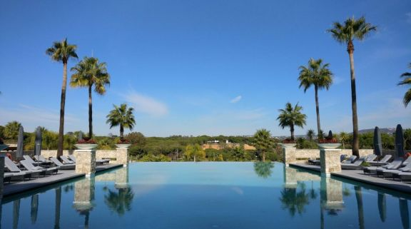 Conrad Algarve has one of the best outdoor pools around Algarve