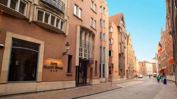 The Martins Brugge's impressive hotel situated in gorgeous Bruges  Ypres.