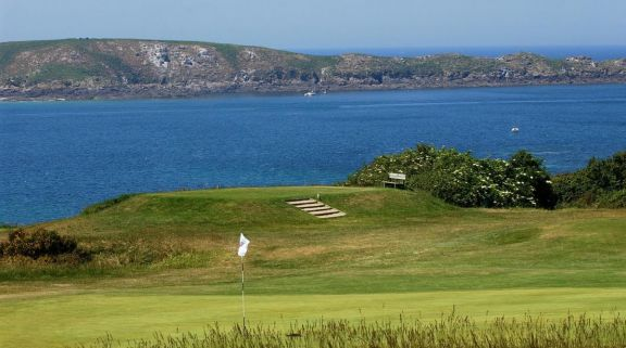 View Golf de Dinard's lovely golf course situated in pleasing Brittany.