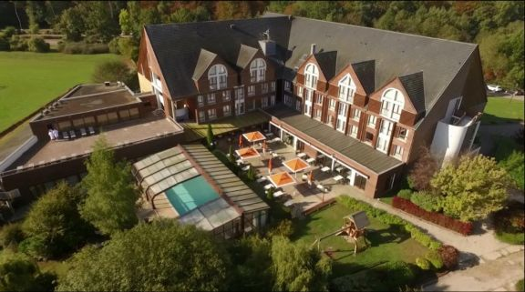 The Golf de la Foret d Orient's beautiful golf course within amazing Champagne & Alsace.