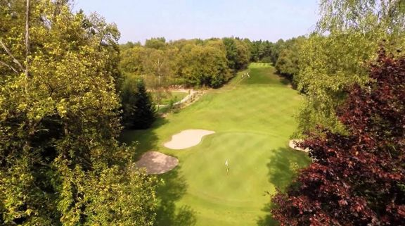 The Golf de Domont Montmorency's impressive golf course situated in astounding Paris.