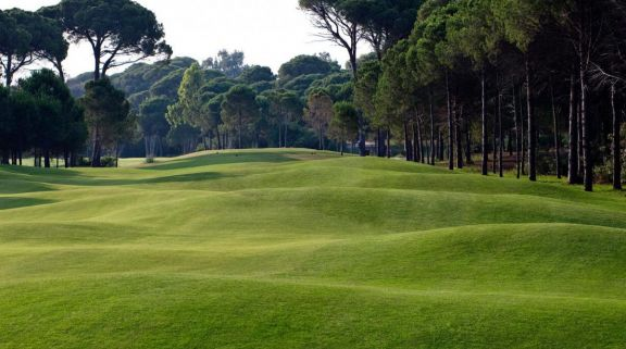 The Sueno Golf Club's scenic golf course within incredible Belek.
